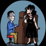Anna D'Acunto e Leo Ravera disegno